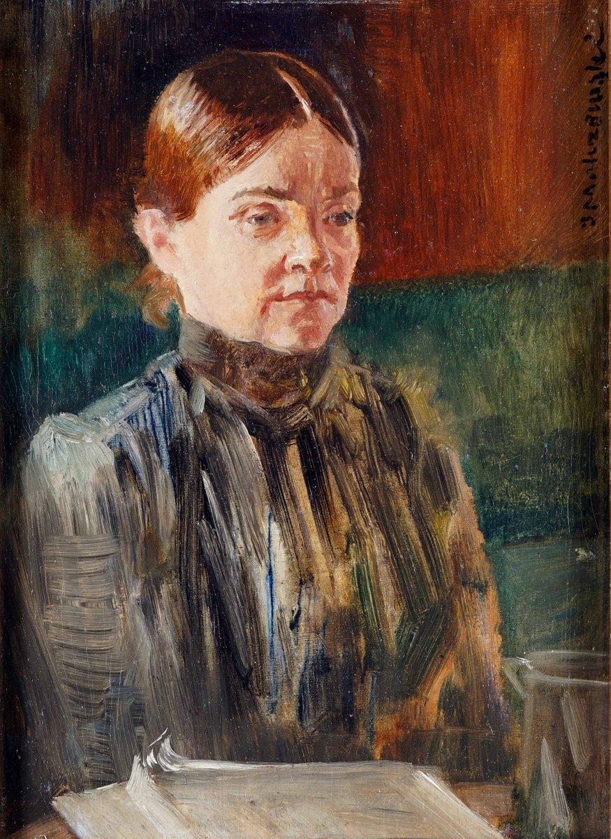 Portret Bronisławy Malczewskiej