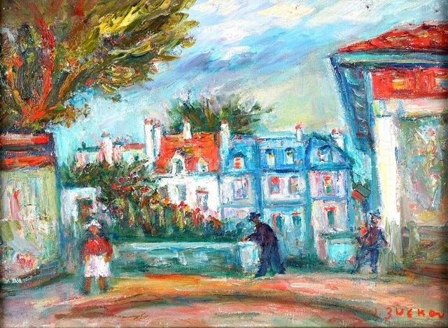 Francuskie miasteczko