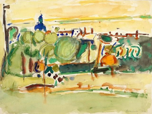 Pejzaż abstrakcyjny, 1956
