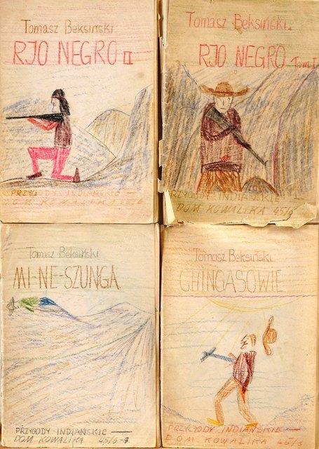Zestaw czterech opowiadań: Rjo Negro Tom I, Rjo Negro II, Mi-ne-szunga, Chingasowie