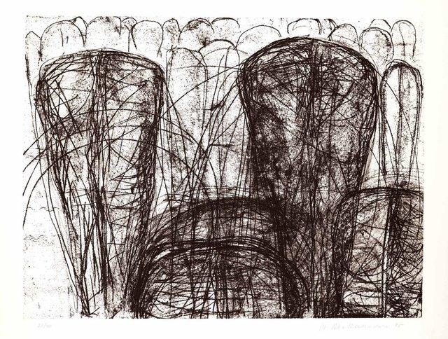 Figury, z teki Katarsis, 1985