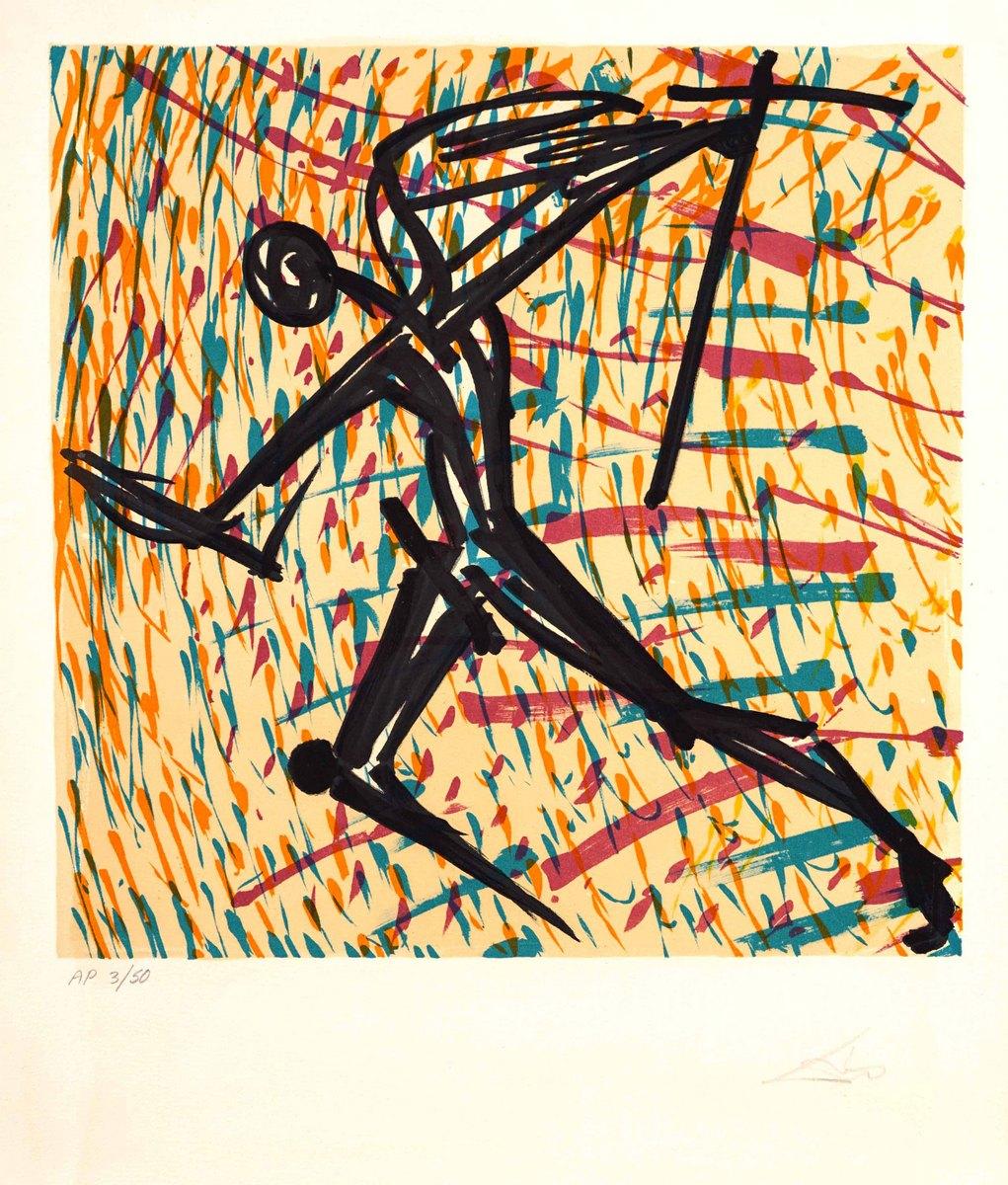 Wiara, która słabnie, z cyklu: Witraże, Znaki wiary, 1973