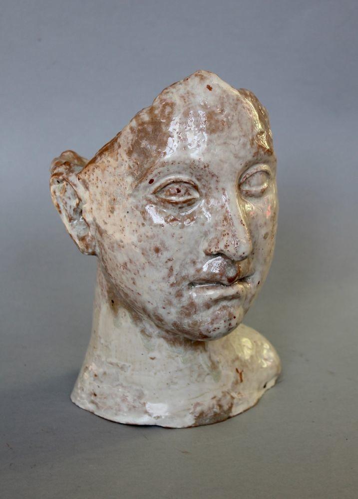 Głowa kobieca-pojemnik