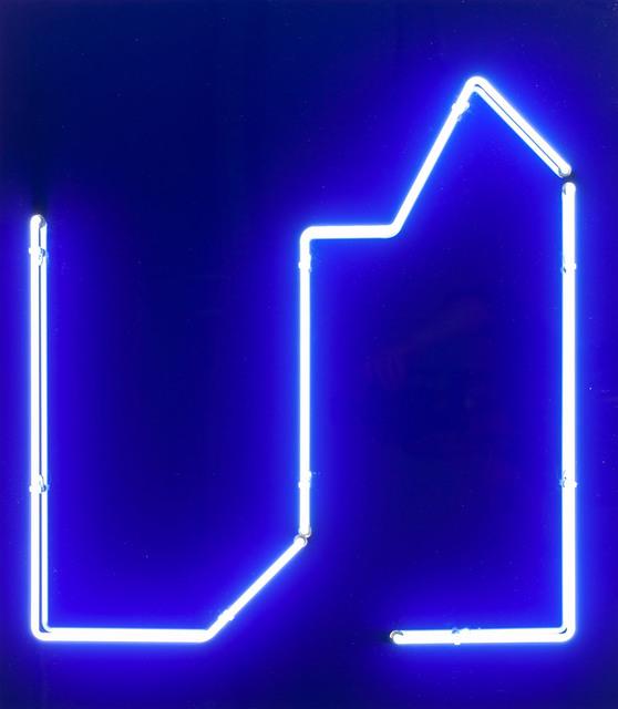 """Neon z cyklu """"Dom"""", 2002"""