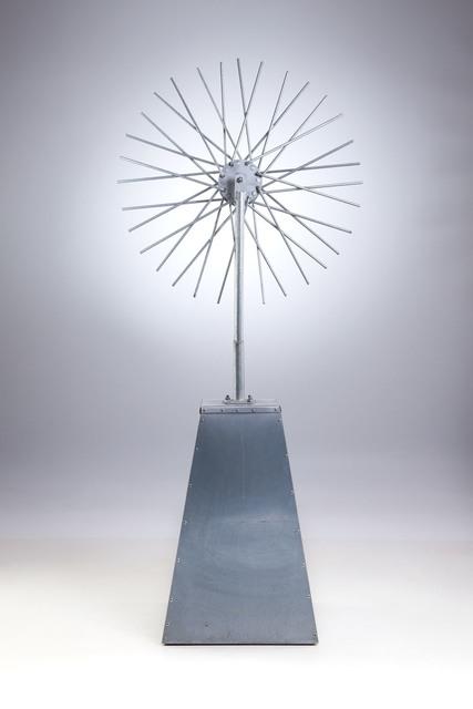 """""""Marcel Duchamp"""" w cudzysłowie (Odnalezienie zaginionego dzieła sztuki. Koło rowerowe 1913), 2014"""