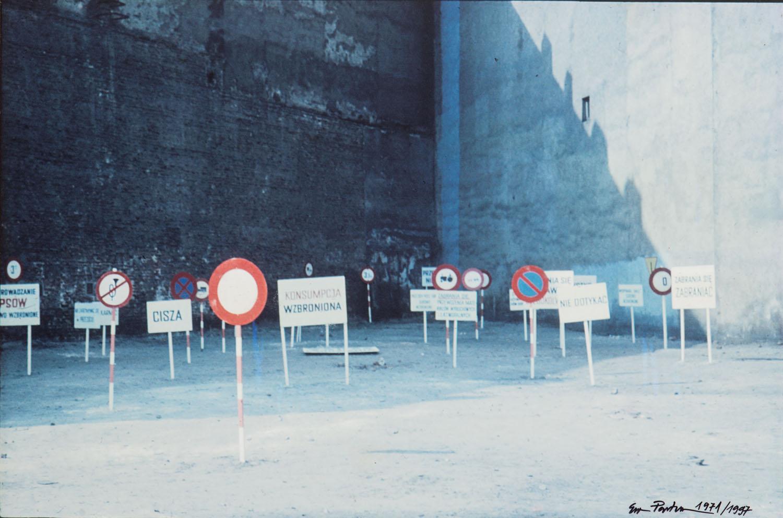 """""""Legalność przestrzeni"""", 1971/1997"""