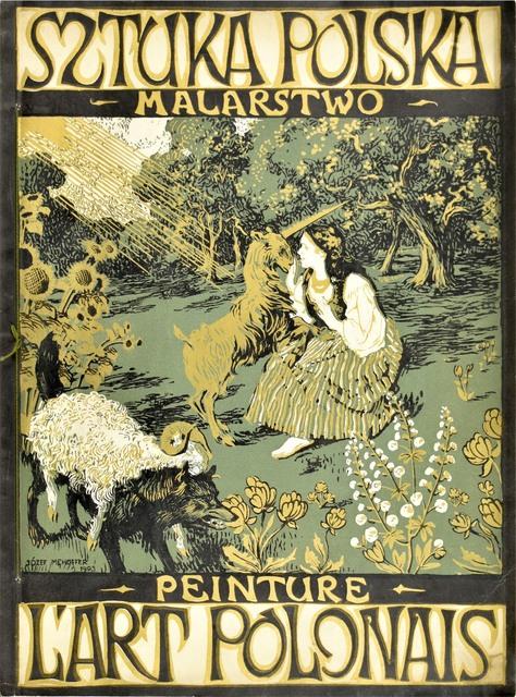Sztuka Polska – okładka wraz z całym czasopismem, 1903