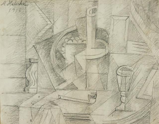 Kompozycja, 1916