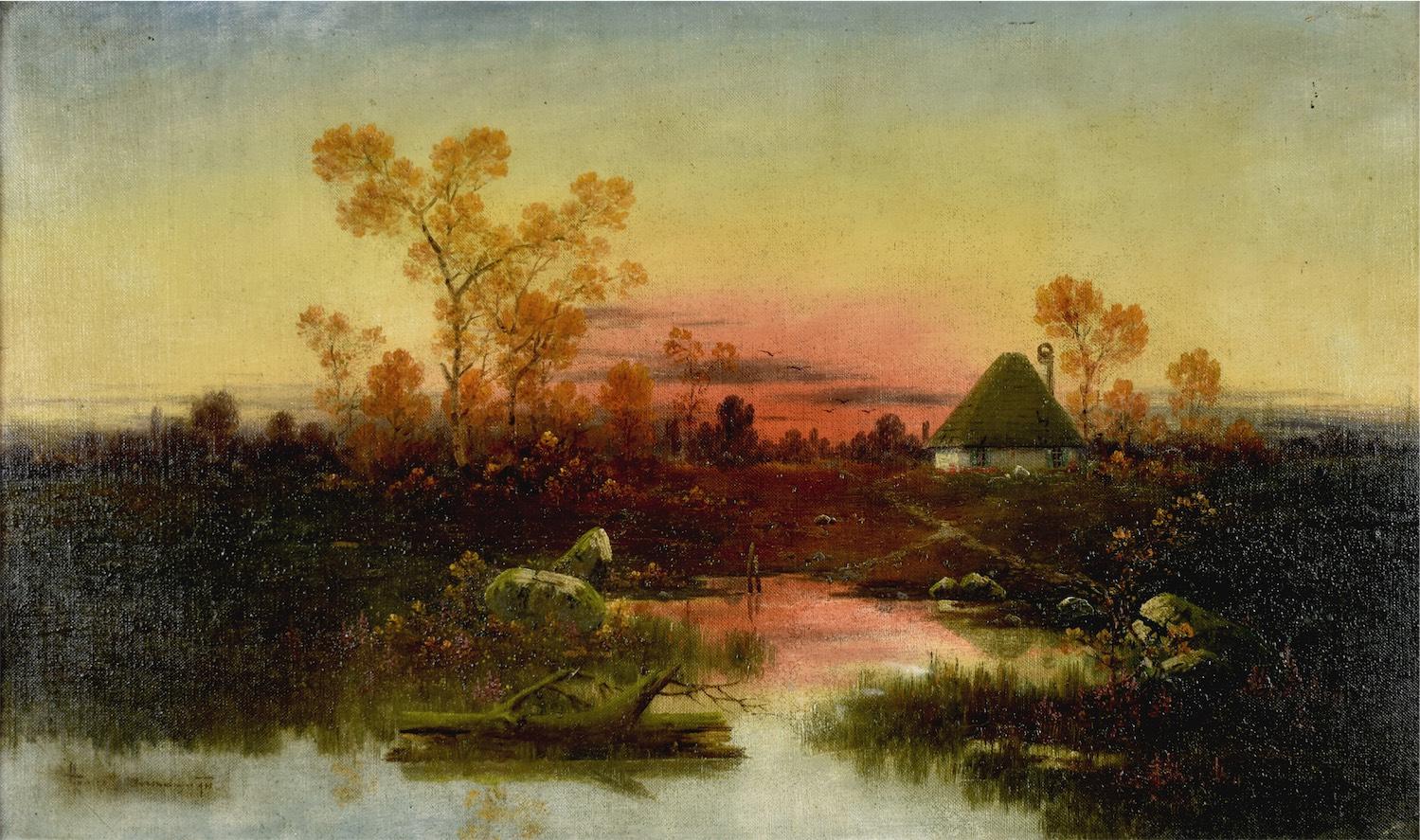 Pejzaż przedwieczorny, ok. 1900