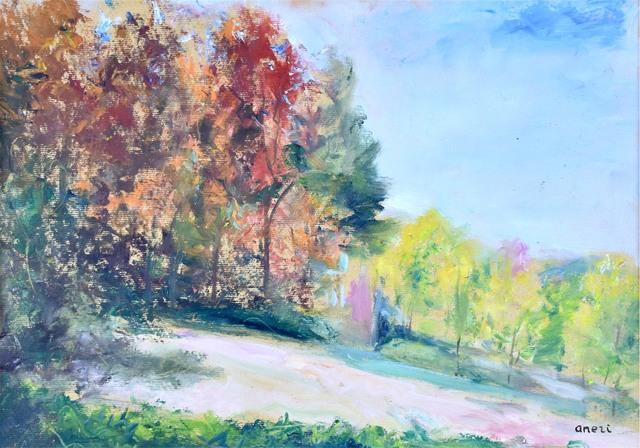 Pejzaż jesienny II – Kalwaria, 1970
