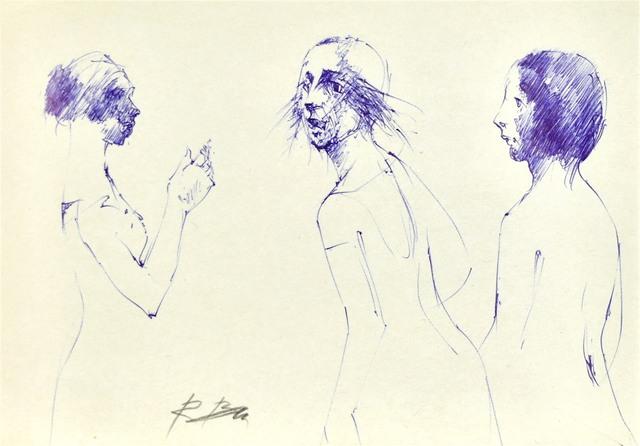 Szkice kobiet w różnych ujęciach