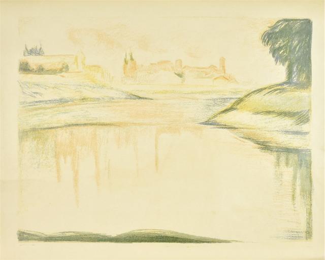 Panorama z widokiem Wawelu