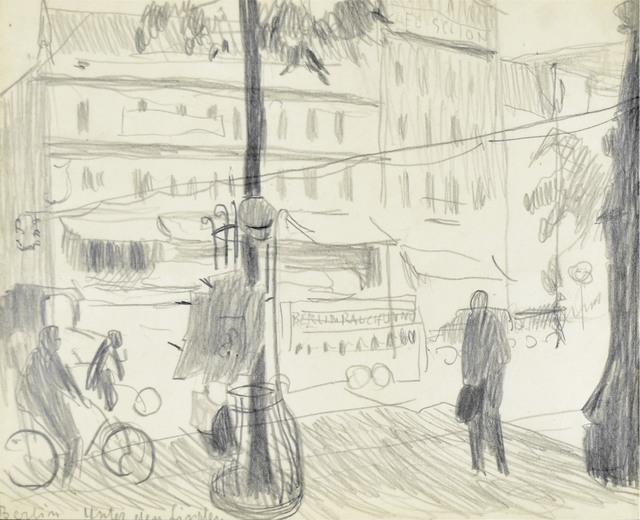 Aleja Unter den Linden w Berlinie, ok. 1903?