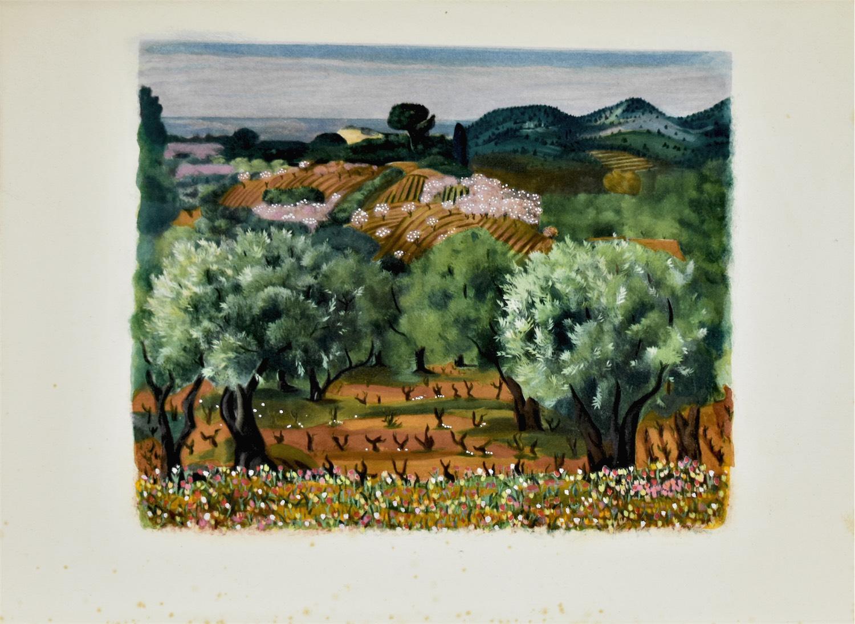 Pejzaż z Prowansji