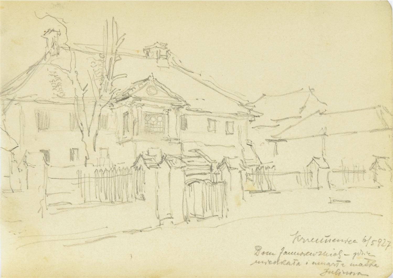 Dom w Krzemieńcu, 1927