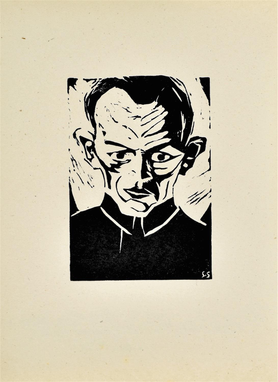 Autoportret III, 1921