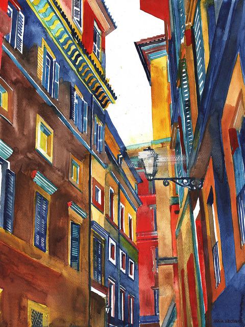 Rome buildings, 2020