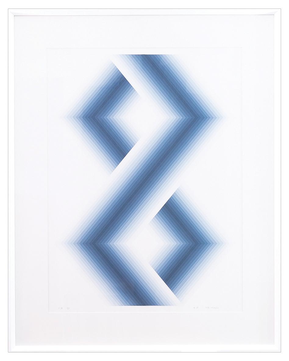 BLUE HEXAGONS, 1971 r.