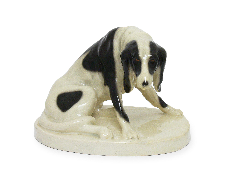 Figura siedzącego psa