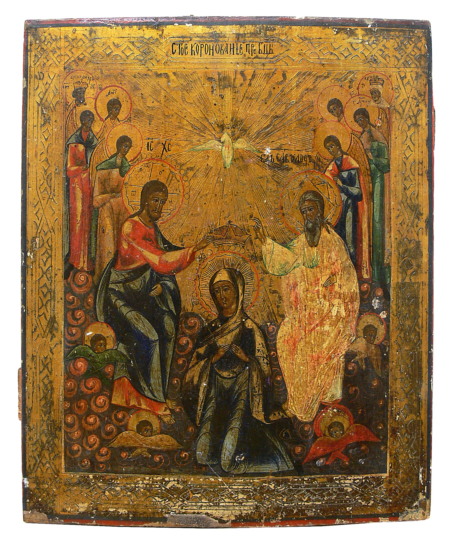 Ikona Koronacja Matki Boskiej