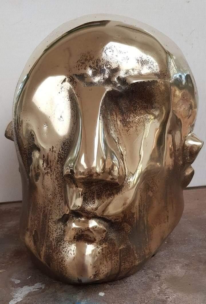 """""""Głowa""""rzeźba, 2020"""