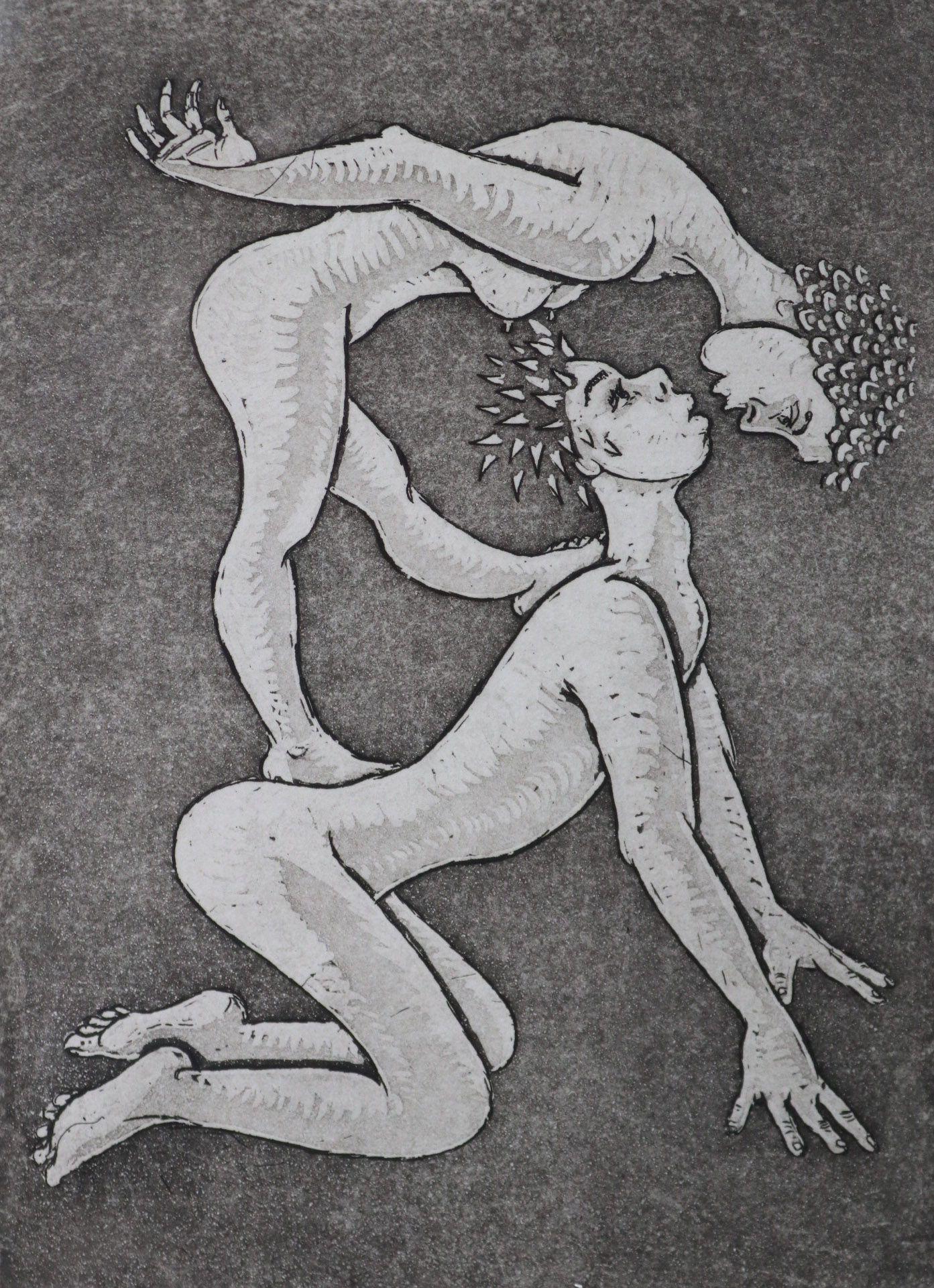 """""""Pocałunek przydeptany"""", 2004"""