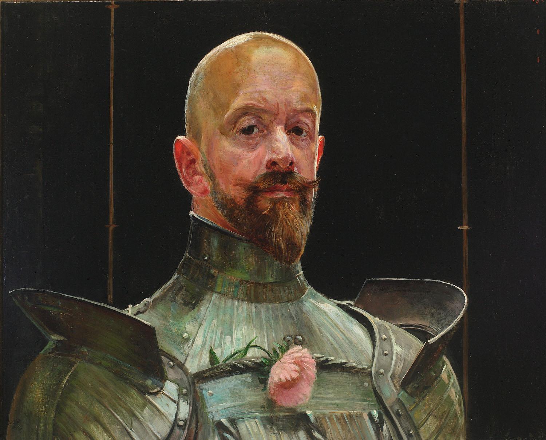 ADOPCJA: Jacek Malczewski (1854-1929), Autoportret w zbroi, 1914