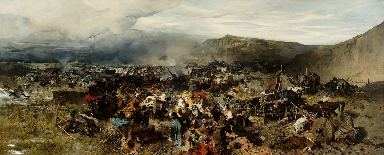 ADOPCJA: Józef Brandt (1841-1915), Odbicie jasyru, 1878
