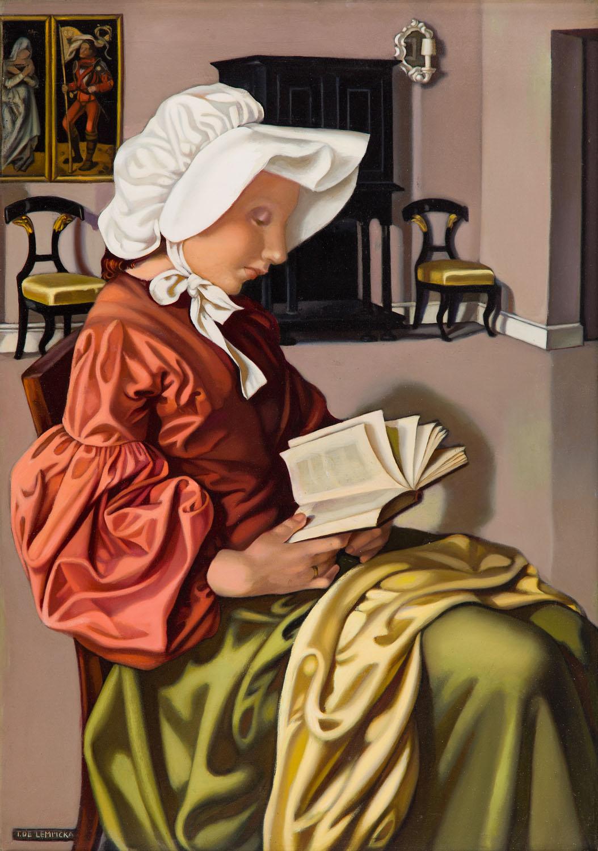 """""""Czytająca I"""" (""""La Liseuse I""""), około 1951"""