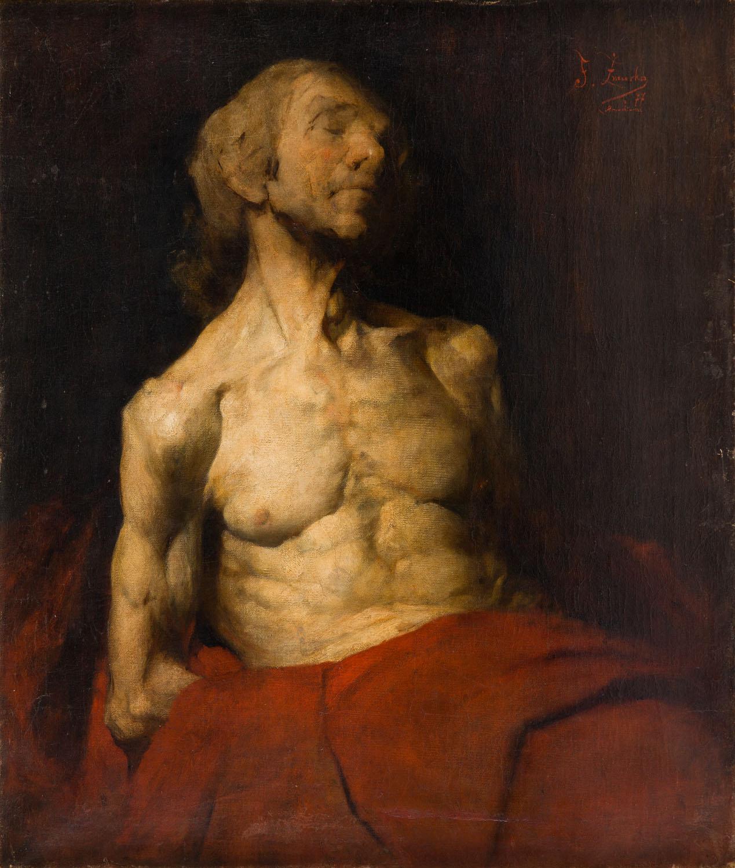 Studium portretowe starca, 1877