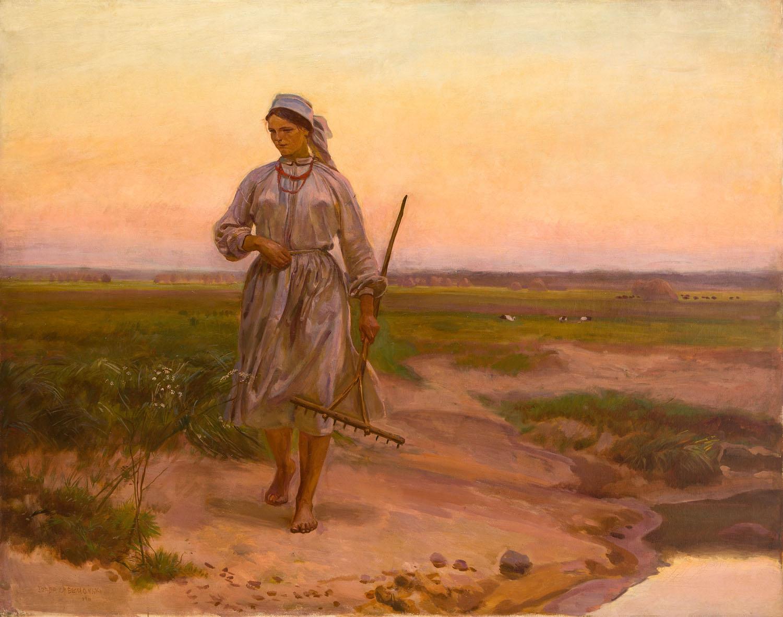 """""""Powrót z łąk"""", 1911"""