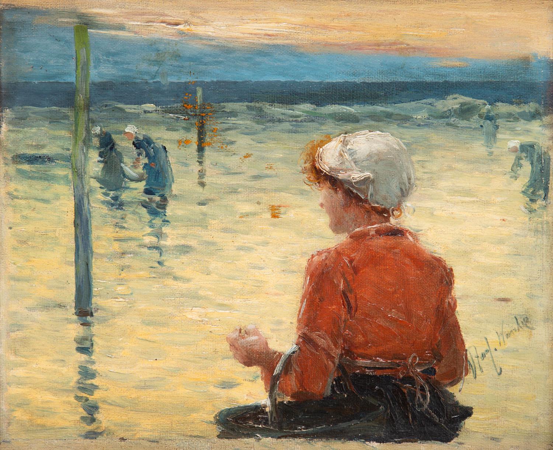 """""""Bretonki nad brzegiem morza"""", około 1893-1894"""