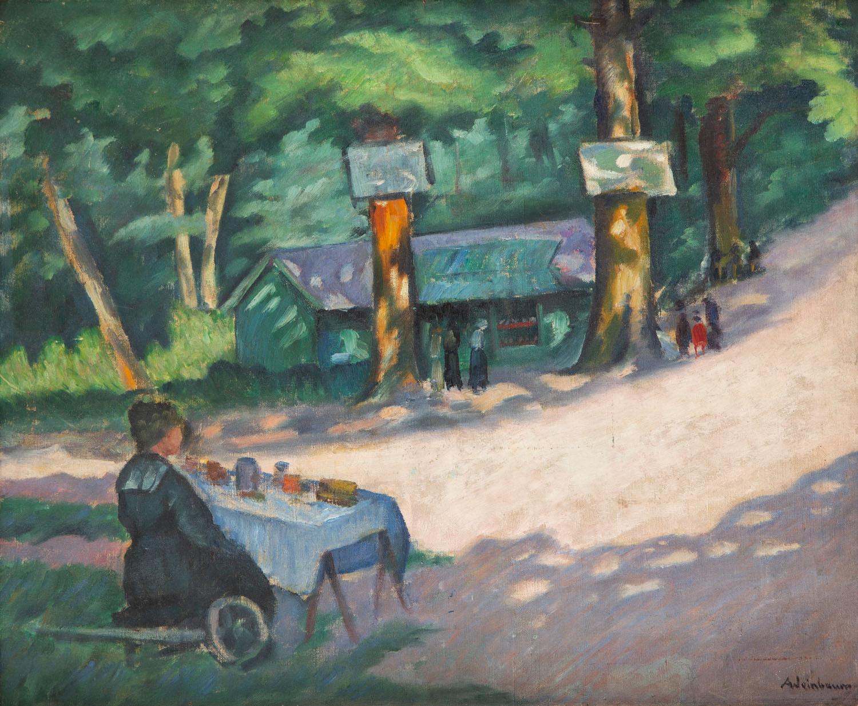 Scena w parku, około 1930