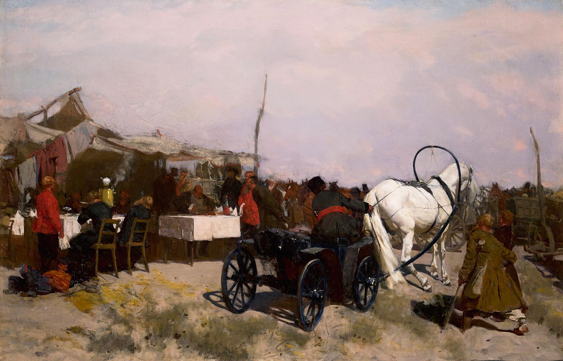 Targ wiejski, 1882