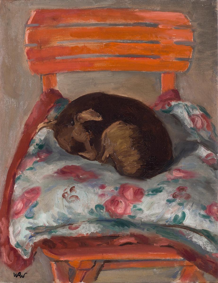 Kiki, Śpiący piesek, ok. 1937