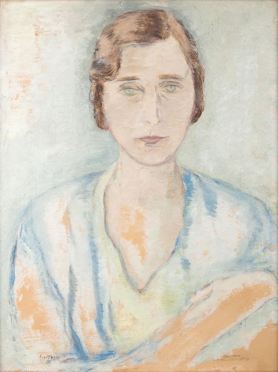Portret Leny, ok 1930 - 1932