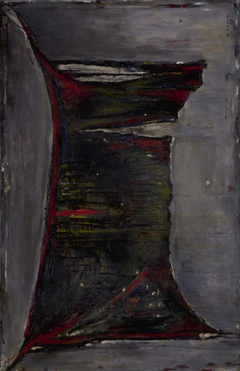 Pejzaż czarny, 1959