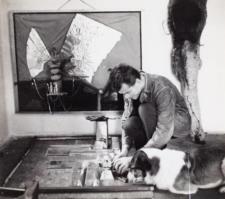 """W pracowni"", 1965"