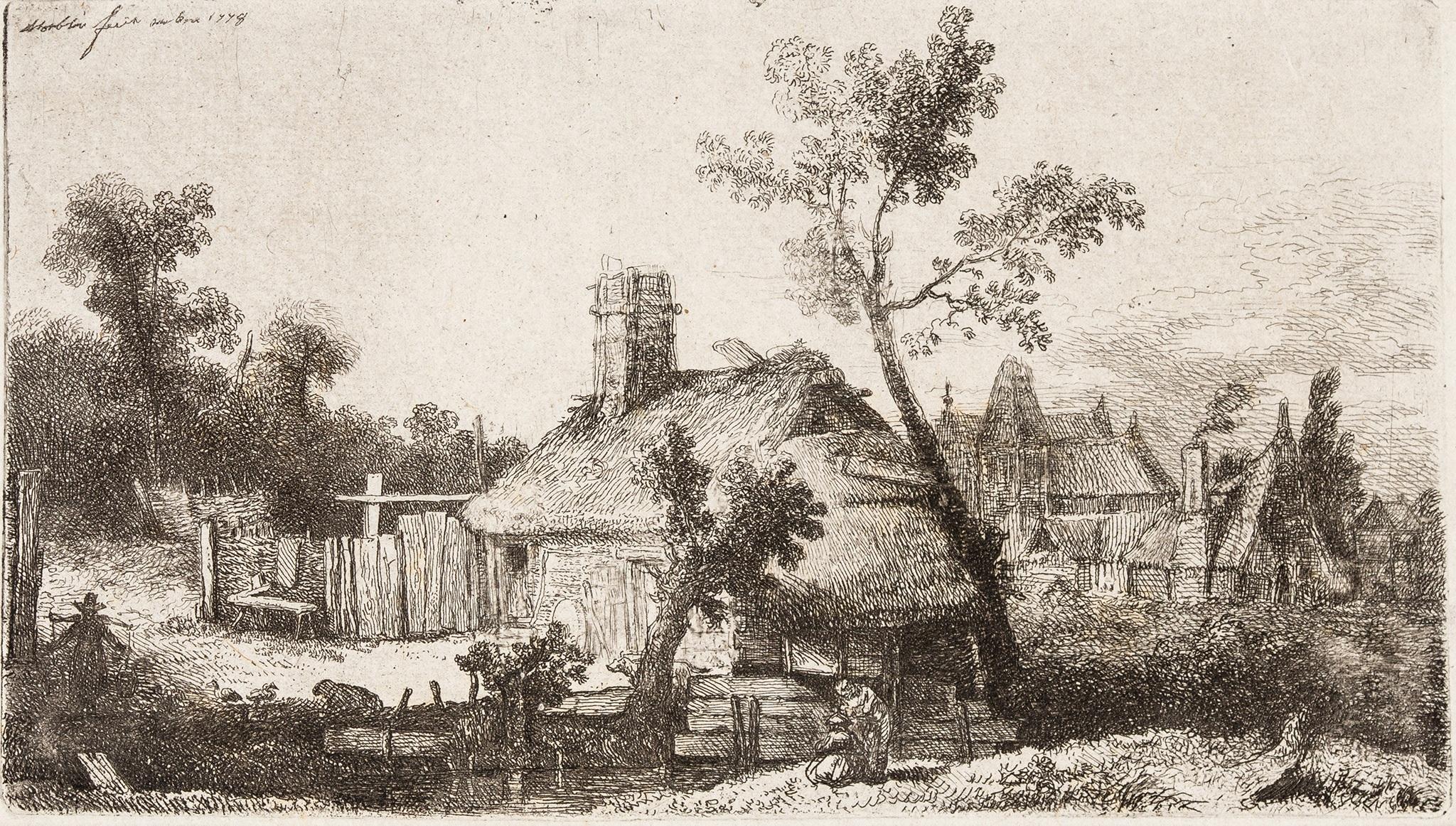 """Widok wsi"", 1778 rok"