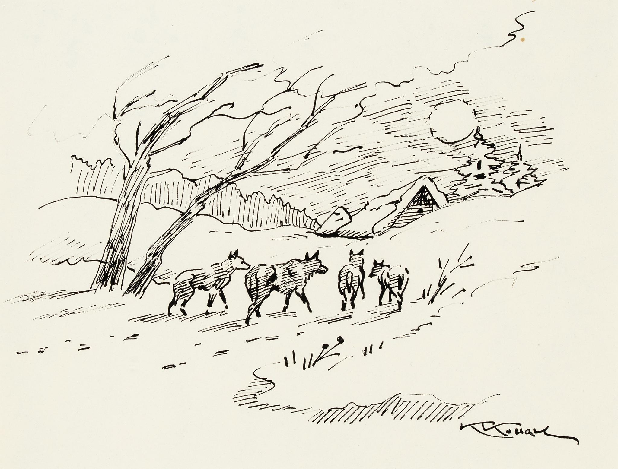 """""""Wilki"""", około 1960 roku"""