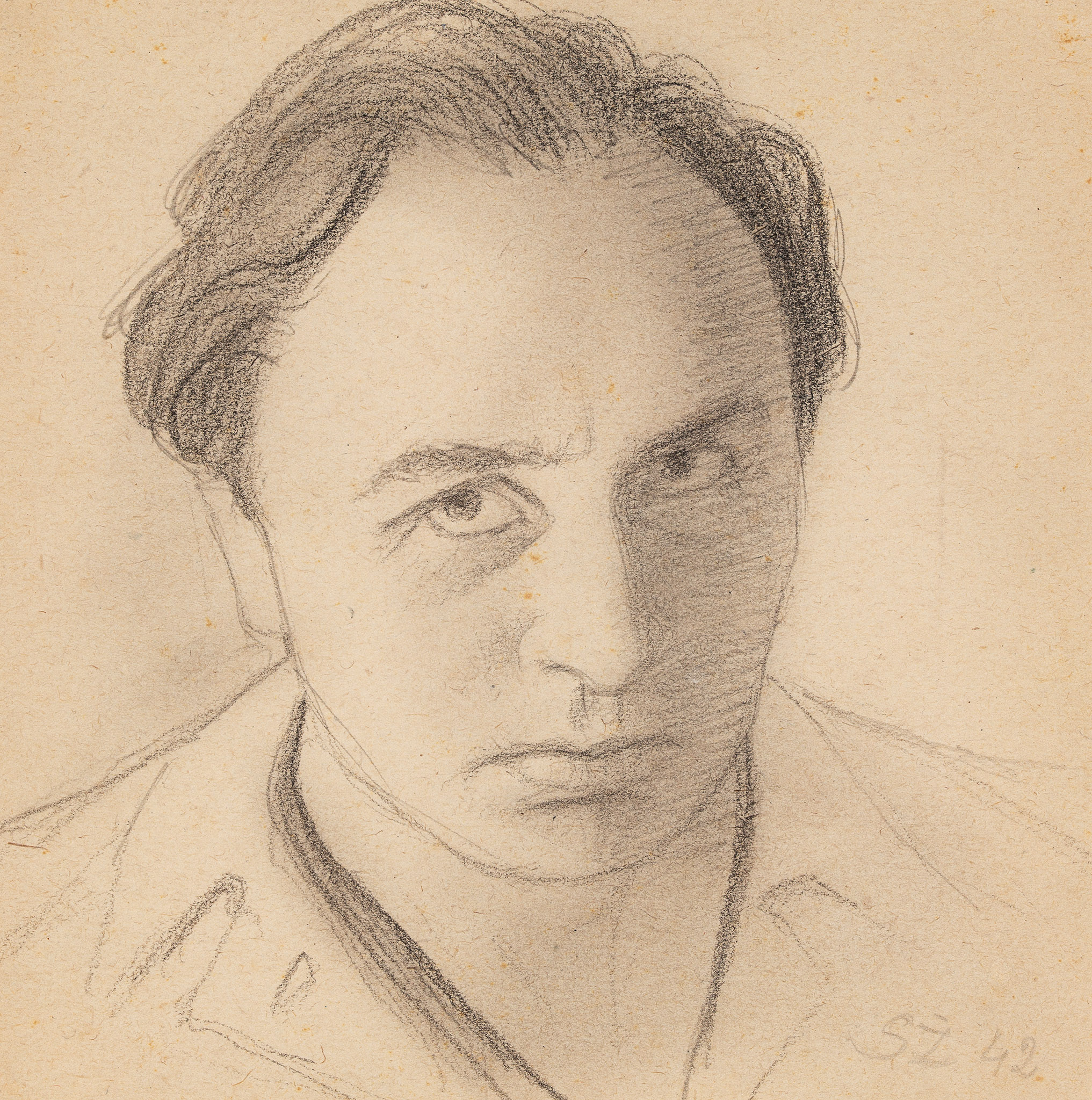"""Autoportret"", 1942 rok"