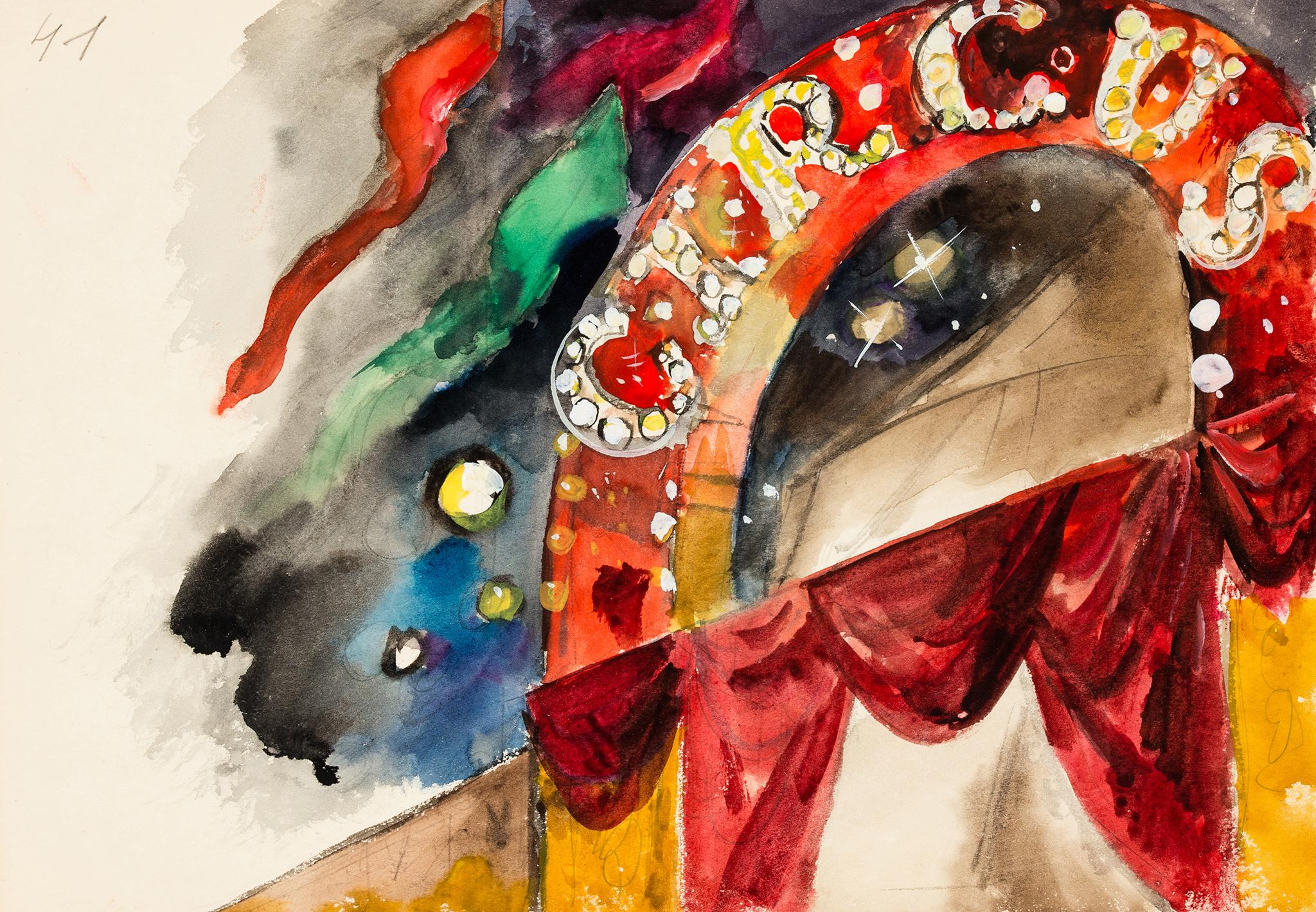 """""""W cyrku"""", około 1960 roku"""