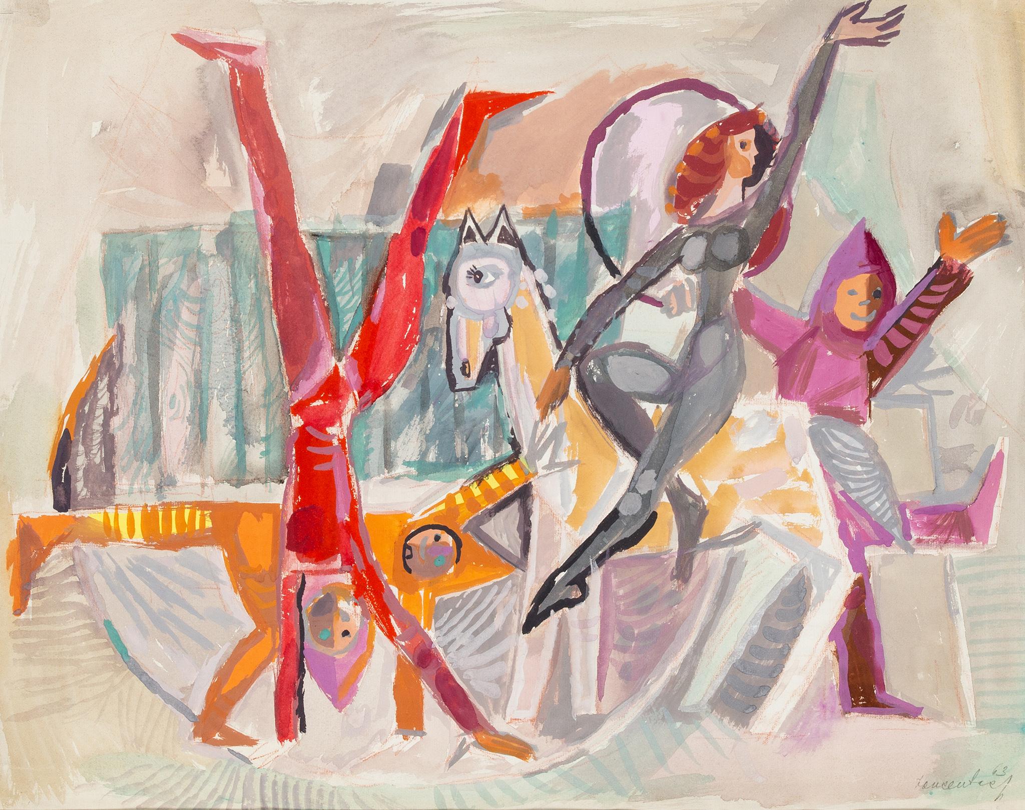 """""""Cyrkowcy"""", 1964 rok"""