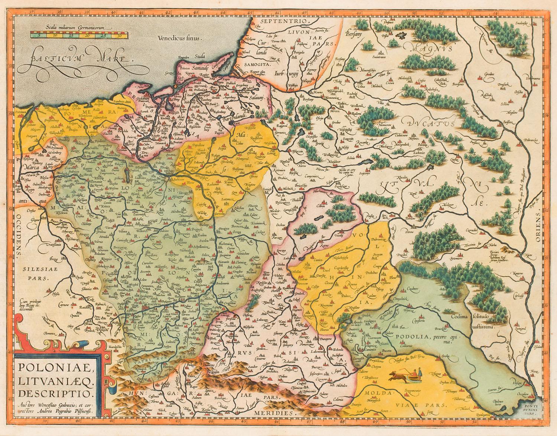 Wacław Grodecki, Abraham Ortelius, XVI w.