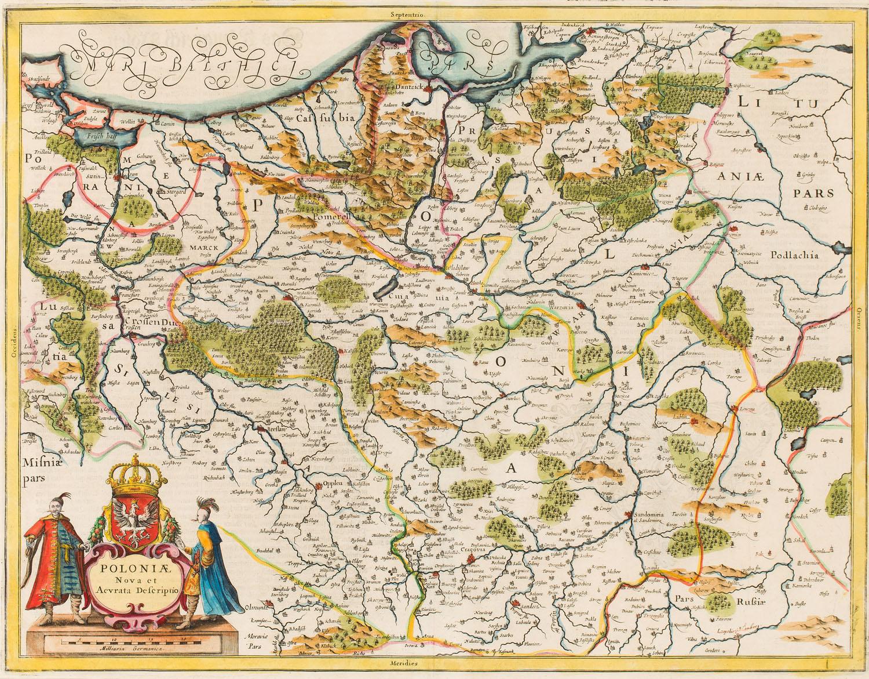 Hendrik Hondius, Johannes Janssonius, XVII w.