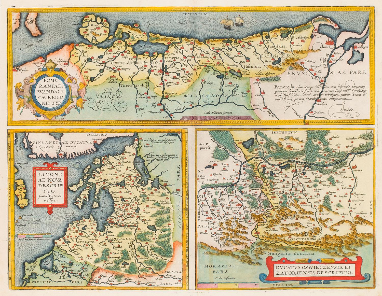 Pomorze, Livonia, Księstwo Oświęcimsko-Zatorskie, 1595
