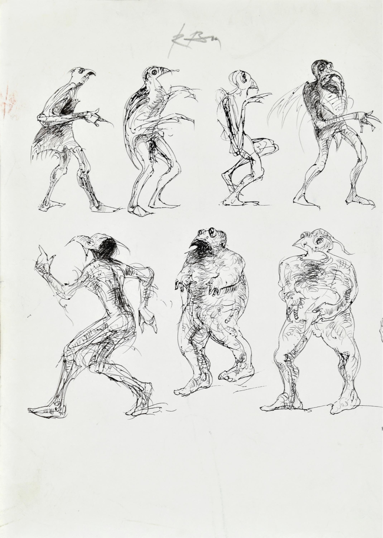 Szkice postaci baśniowych