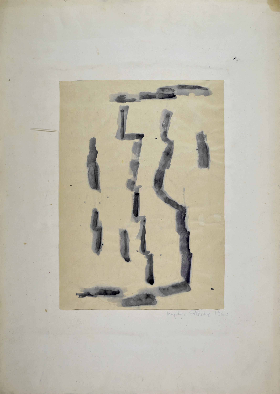 Kompozycja czarna, 1960