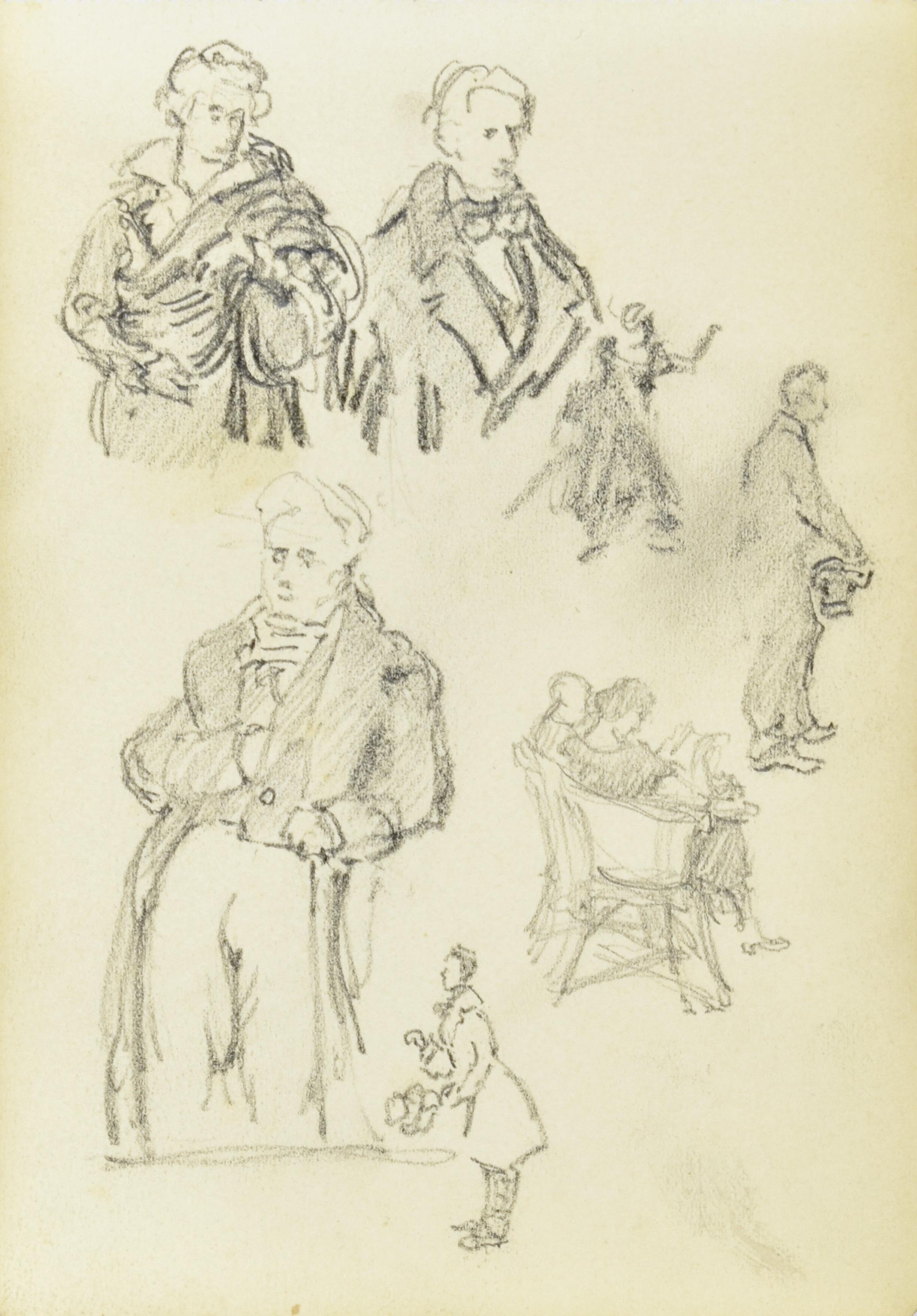 Szkice portretowe i szkice postaci