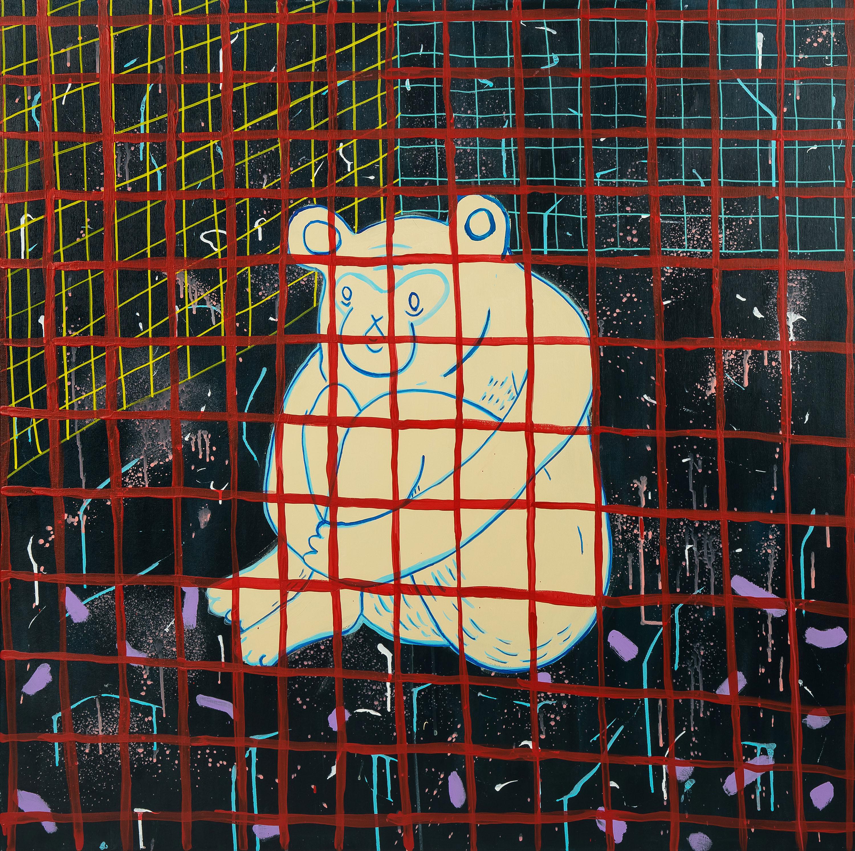 Małpa - siedzę i patrzę w pustą ścianę, 2020